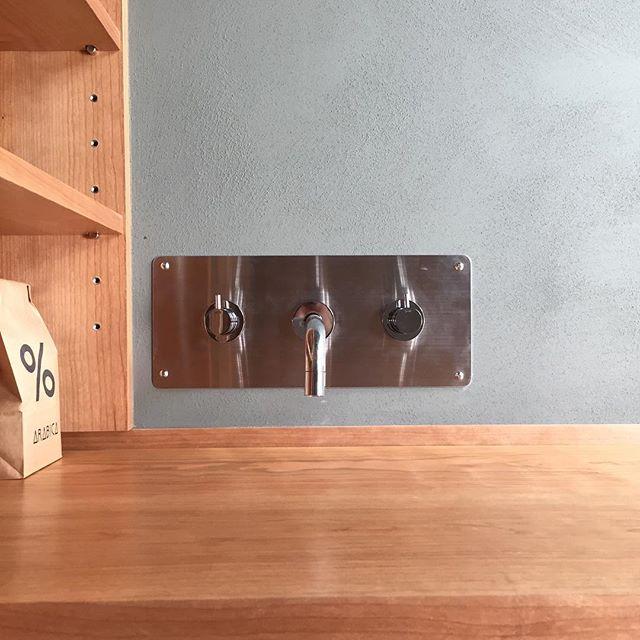 カフェカウンター施工事例個人邸#ラグデザイン #オーダーキッチン #カフェカウンター